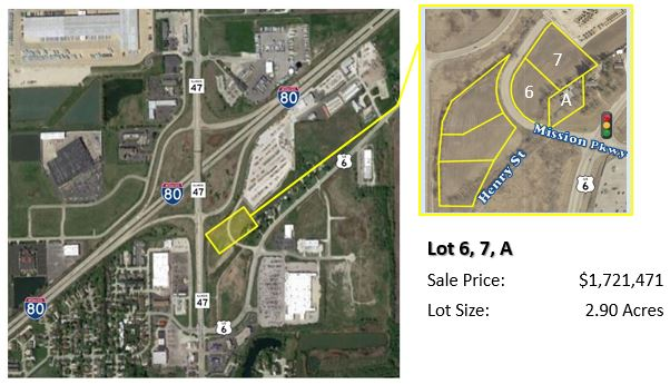 Mission Parkway/Henry Brown - Lot 6, 7, A 1